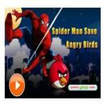 Spiderman Save Angry Birds