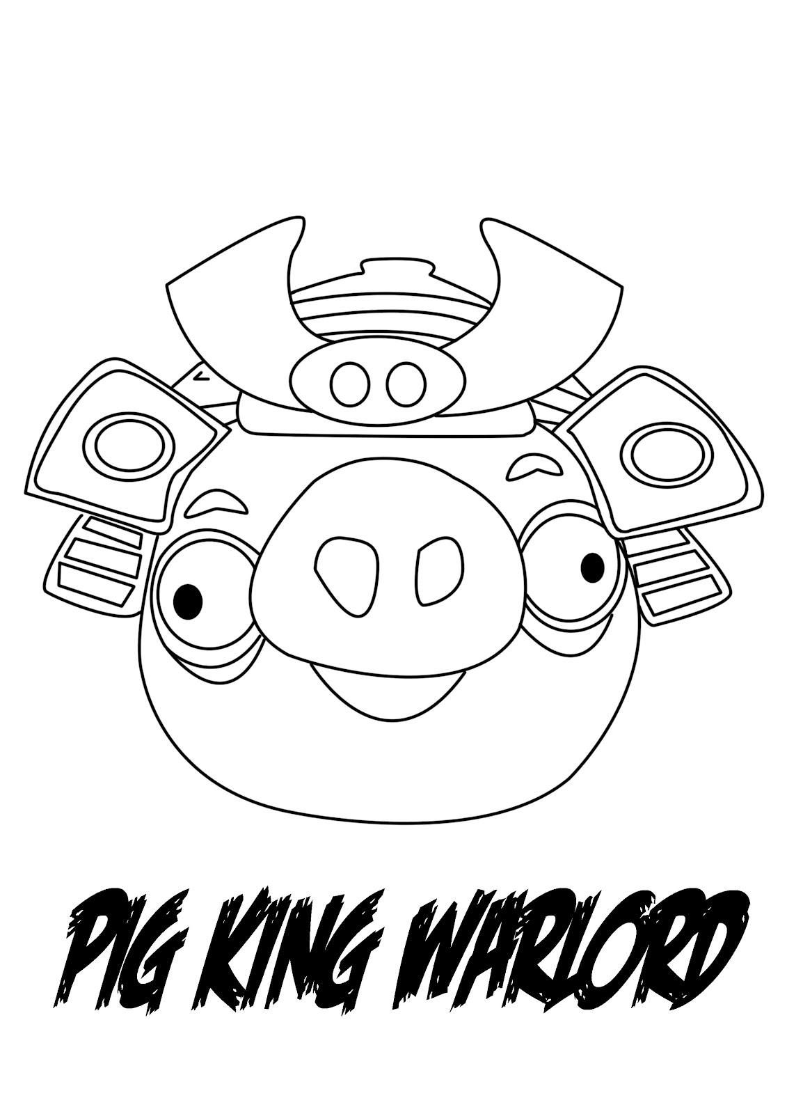 Angry Birds Bad Piggies Coloring Pages Dibujo para colorear de angryAngry Birds Bad Piggies Coloring Pages